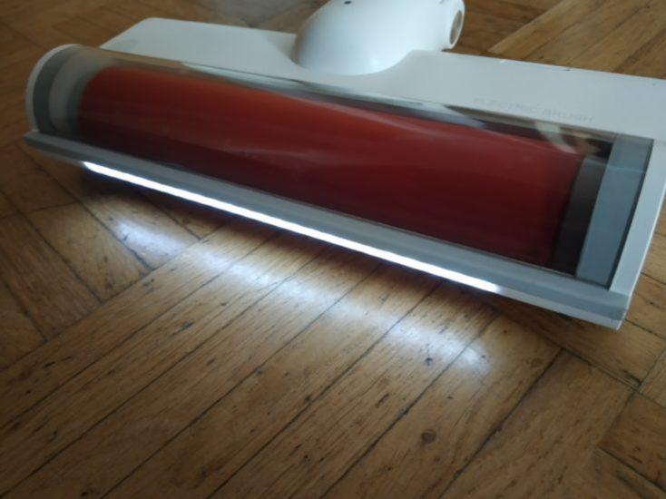 جاروبرقی شارژی بی سیم دستی شیائومی مدل ROIDMI F8 Roidmi F8 battery vacuum cleaner LED floor nozzle 734x550