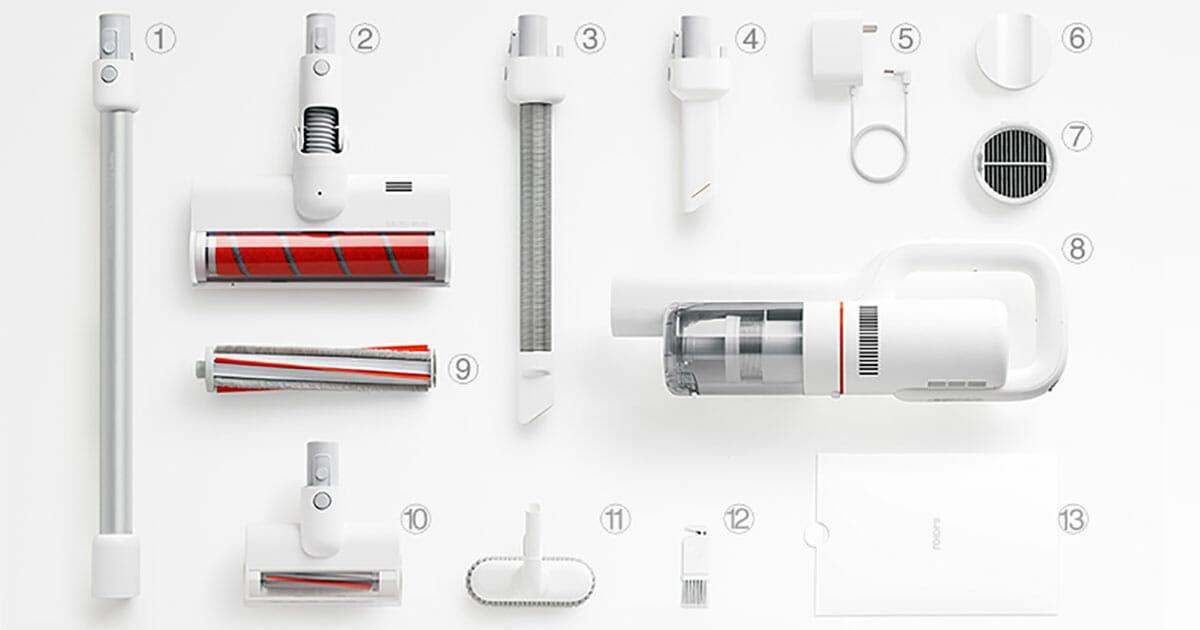 جاروبرقی شارژی بی سیم دستی شیائومی مدل ROIDMI F8 roidmi cordless vacuum cleaner indiegogo