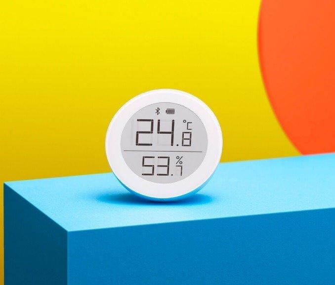 دماسنج و رطوبت سنج هوشمند شیائومی xiaomi Qingping Bluetooth thermometer and hygrometer 2